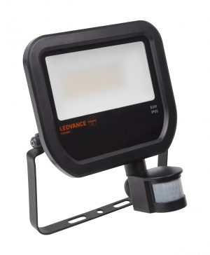 Floodlight 50 BK Sensor IP65