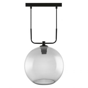 1906 GLOBE PENDANT 300×1280 Glass Smoke IP20